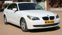 BMW 5 Series On Rent Ahmedabad