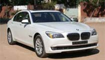 BMW 7 Series on Rent Ahmedabad