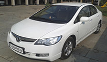 Honda City On Rent Ahmedabad